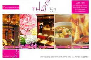 web design portfolio restaurant1